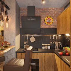 Small kitchens by Irina Yakushina
