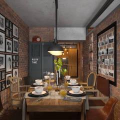Столовая: Столовые комнаты в . Автор – Irina Yakushina