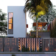 Small houses by Indigo Diseño y Arquitectura, Tropical Reinforced concrete