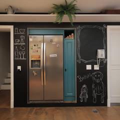 Cozinha - Barra da Tijuca - Rio de Janeiro Cozinhas campestres por Erica Saraiva Design de Interiores Campestre