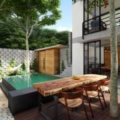 Terrazas de estilo  por Indigo Diseño y Arquitectura