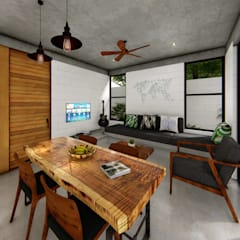 Indigo Diseño y Arquitecturaが手掛けたリゾートハウス