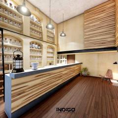 Oficinas de estilo  por Indigo Diseño y Arquitectura
