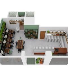 Portifólio: Escritórios e Espaços de trabalho  por Brise - Arquitetura e Construção,Industrial
