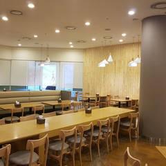 식음공간-LS용산타워: DB DESIGN Co., LTD.의  레스토랑