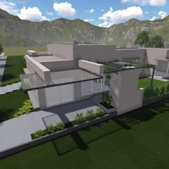 CASA DALVIAN M11: Casas unifamiliares de estilo  por MABEL ABASOLO ARQUITECTURA,Moderno