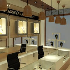 Jewelry Shop (Interior project):  Commercial Spaces by Inaraa Designs