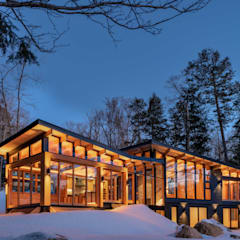 Contemporary Cottages in Ontario:  Houses by Trevor McIvor Architect Inc,
