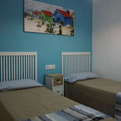 Boys Bedroom by Duplex Home Staging