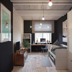 Boys Bedroom by Irina Yakushina,