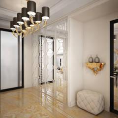 Квартира на ул. Кемская, Санкт-Петербург: Коридор и прихожая в . Автор – Elena Demkina Design