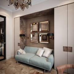 Квартира на ул. Кемская, Санкт-Петербург: Рабочие кабинеты в . Автор – Elena Demkina Design