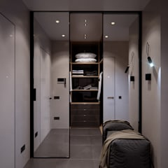 Dressing room by Elena Demkina Design, Minimalist