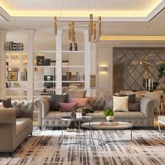 Serai Bukit Bandaraya, Bangsar:  Living room by Norm designhaus