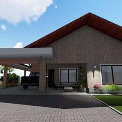 Casa de Campo por Danilo Rodrigues Arquitetura Campestre