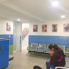 Clínica veterinaria mascotas club: Clínicas de estilo  por Lopez Robayo Arquitectos,