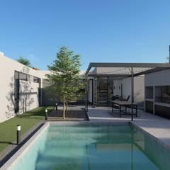 Дома на одну семью в . Автор – Arquitecto Manuel Morón, Минимализм