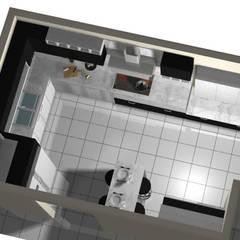 Cocina Moderna : Muebles de cocinas de estilo  por Imprearte spa