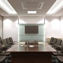 Thiết kế văn phòng Công ty TNHH Vạn Niên:  Văn phòng & cửa hàng by Công ty CP nội thất Miền Bắc