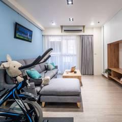 Living room by Feeling 室內設計