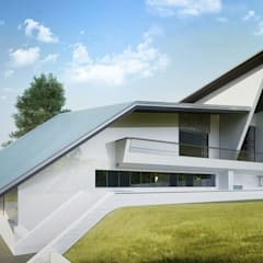 Загородный дом на Чистых Прудах *SPACE*: Загородные дома в . Автор – Дизайн-Центр