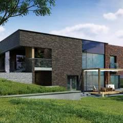 Частный дом на Ключевского *MINIMALISM*: Загородные дома в . Автор – Дизайн-Центр