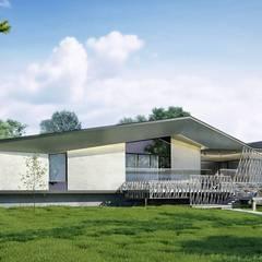 Загородный дом в с. Лопатки *SPACE*: Загородные дома в . Автор – Дизайн-Центр