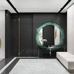PURE GENIUS | I | Wnętrza domu: styl , w kategorii Korytarz, przedpokój zaprojektowany przez ARTDESIGN architektura wnętrz