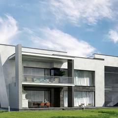 منزل ريفي تنفيذ Дизайн-Центр