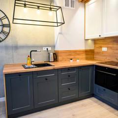 Unit dapur by  Pracownia Aranżacji Wnętrz OptimumArt