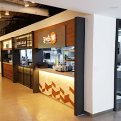 Restaurantes de estilo  por DB DESIGN Co., LTD.