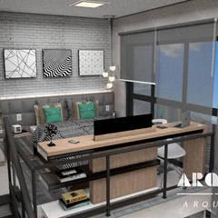 Projeto B - Duplex : Quartos  por Arquorum Arquitetura