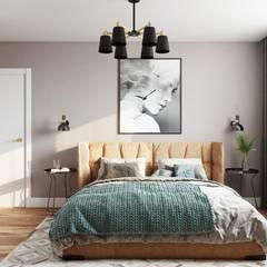 Крылатское. Дизайн-проект для холостого мужчины : Спальни в . Автор – Levitorria
