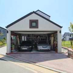 Garage/shed by 이우 건축사사무소