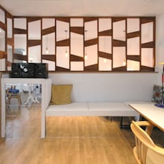 Media room by 이우 건축사사무소