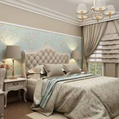 Sia Moore Archıtecture Interıor Desıgn – Chelsea Flat - Londra / İngiltere:  tarz Küçük Yatak Odası, Eklektik Masif Ahşap Rengarenk
