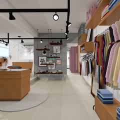 Offices & stores by Daniela Ponsoni Arquitetura