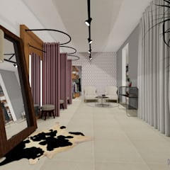 مكاتب ومحلات تنفيذ Daniela Ponsoni Arquitetura