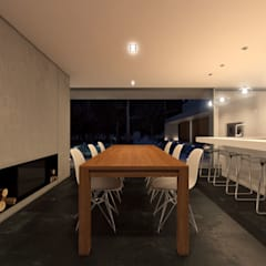 Casa na Comporta, 2012 Portugal Salas de jantar minimalistas por martimsousaemelo Minimalista