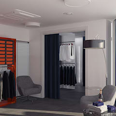 Студия индивидуального пошива Yura Napoli.: Коммерческие помещения в . Автор – Tutto design