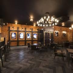 전주인테리어-너바나 와인카페: 내츄럴디자인컴퍼니의  바 & 카페,