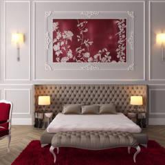 Habitaciones pequeñas de estilo  por Sia Moore Archıtecture Interıor Desıgn