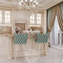 Манифест классической идентичности: Коммерческие помещения в . Автор – Студия Luxury Antonovich Design