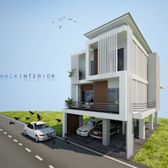 design home:  บ้านเดี่ยว by interir design work