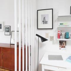 Mini loft, Bruxelles: Bureau de style  par justinside