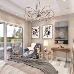 Recámaras pequeñas de estilo  por lifestyle_interiordesign