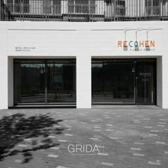 필라테스 스튜디오 '리코헨': 그리다아이디의  주택,미니멀