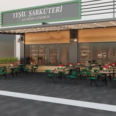 İNDEKSA Mimarlık İç Mimarlık İnşaat Taahüt Ltd.Şti. – YEŞİL ŞARKÜTERİ:  tarz Dükkânlar