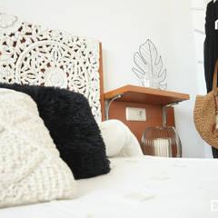 HOME STAGING piso Pobla de Vallbona (VALENCIA): Dormitorios de estilo  de LEVANTE HOME STAGING