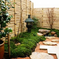 Jardines zen de estilo  por Gardener Landscape